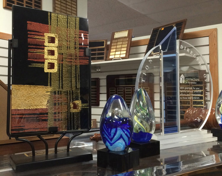 Awards Displayed at Barker Specialty Company