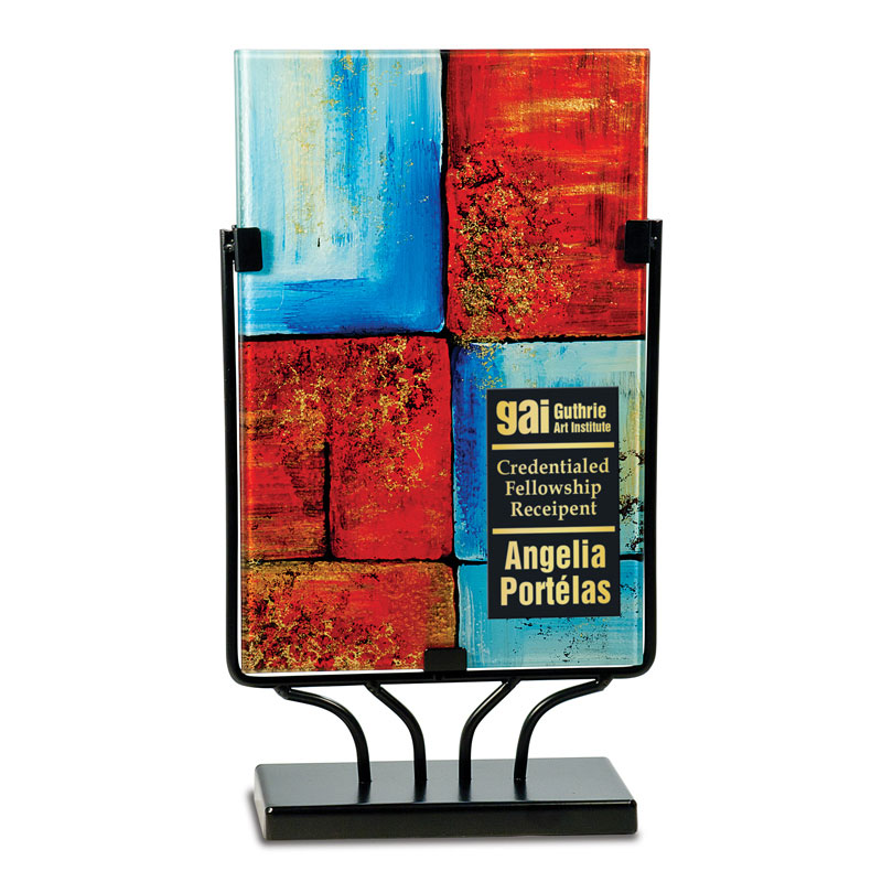 Rectangle Art Glass